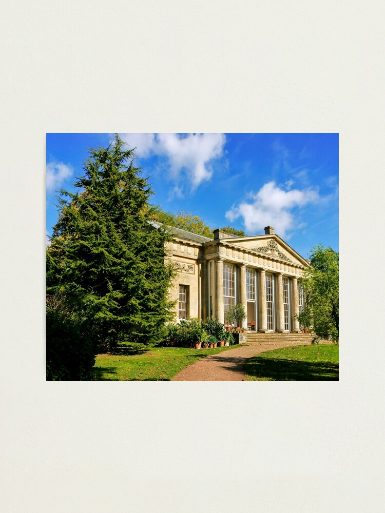 Alternate view of Temple Greenhouse (V2) Photographic Print