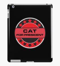 Cat For President iPad Case/Skin