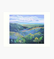 View From the Rooftop St Bernards Hotel Art Print