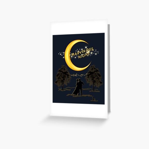 Marvelous Night Greeting Card