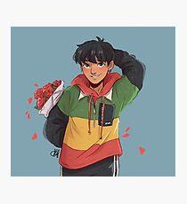 Flower Boy Photographic Print