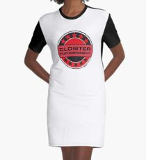 Cloister For President Graphic T-Shirt Dress