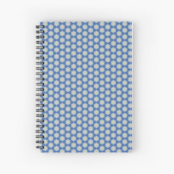 Les flocons bleus Cahier à spirale