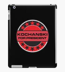 Kochanski For President iPad Case/Skin