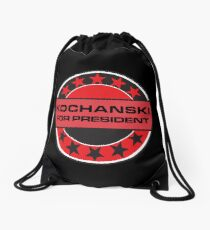 Kochanski For President Drawstring Bag