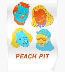Peach Band Poster