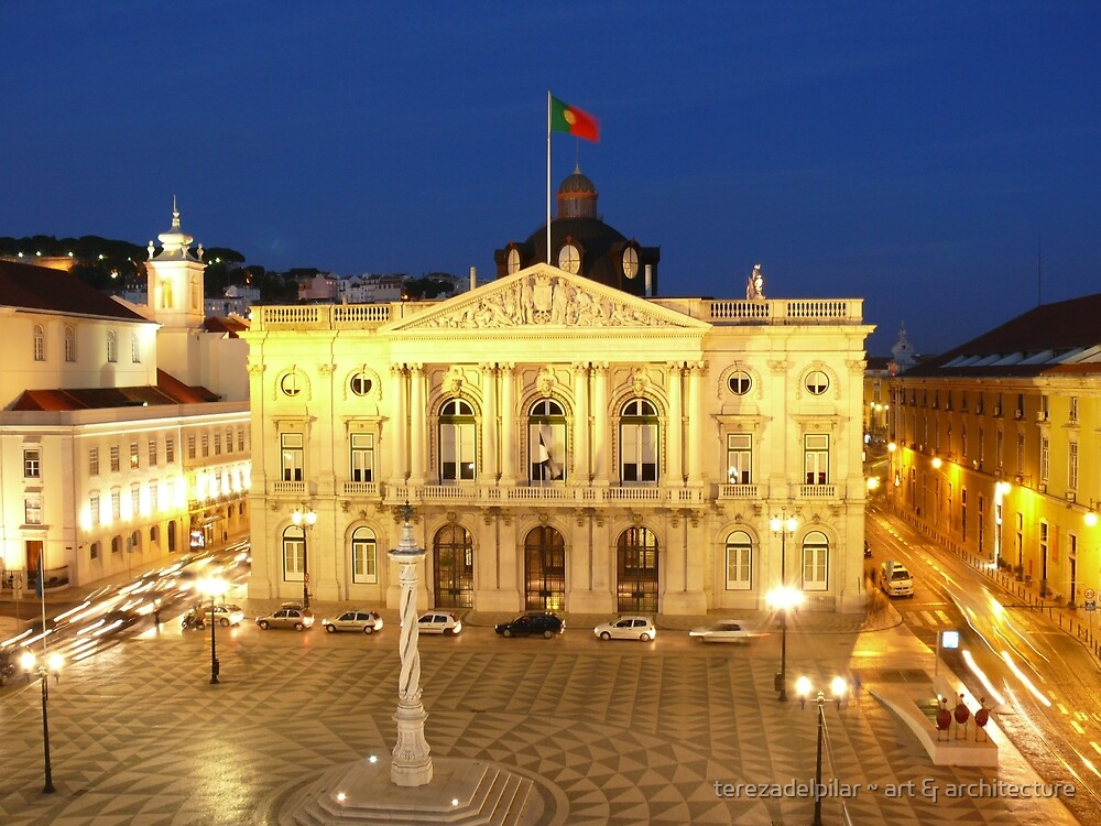 Lisbon Town Hall. Portugal by terezadelpilar ~ art & architecture