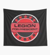 Legion For President Wall Tapestry