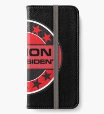 Legion For President iPhone Wallet/Case/Skin