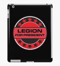 Legion For President iPad Case/Skin