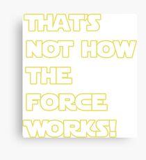 Han Solo Quote Canvas Print
