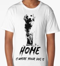 Home Is Where Your Dog Is Long T-Shirt
