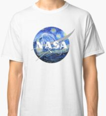 NASA Art Starry Night  Classic T-Shirt