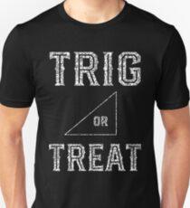 Trig Or Treat - Funny Math Teacher Halloween T-Shirt
