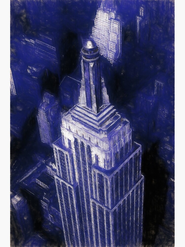 Empire State Building Reworked No. 17, Series 1j by 8th-and-f