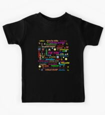 TITLE SONG COLDPLAY Kids Tee