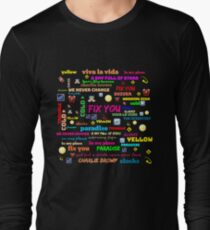 TITLE SONG COLDPLAY T-Shirt