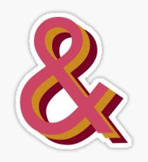 Ampersand Sticker