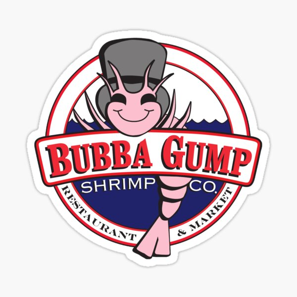 Forrest Gump - Bubba Gump Shrimp Co. Pegatina