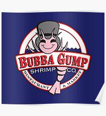 Póster Forrest Gump - Bubba Gump Shrimp Co.