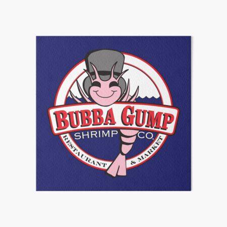 Forrest Gump - Bubba Gump Shrimp Co. Art Board Print