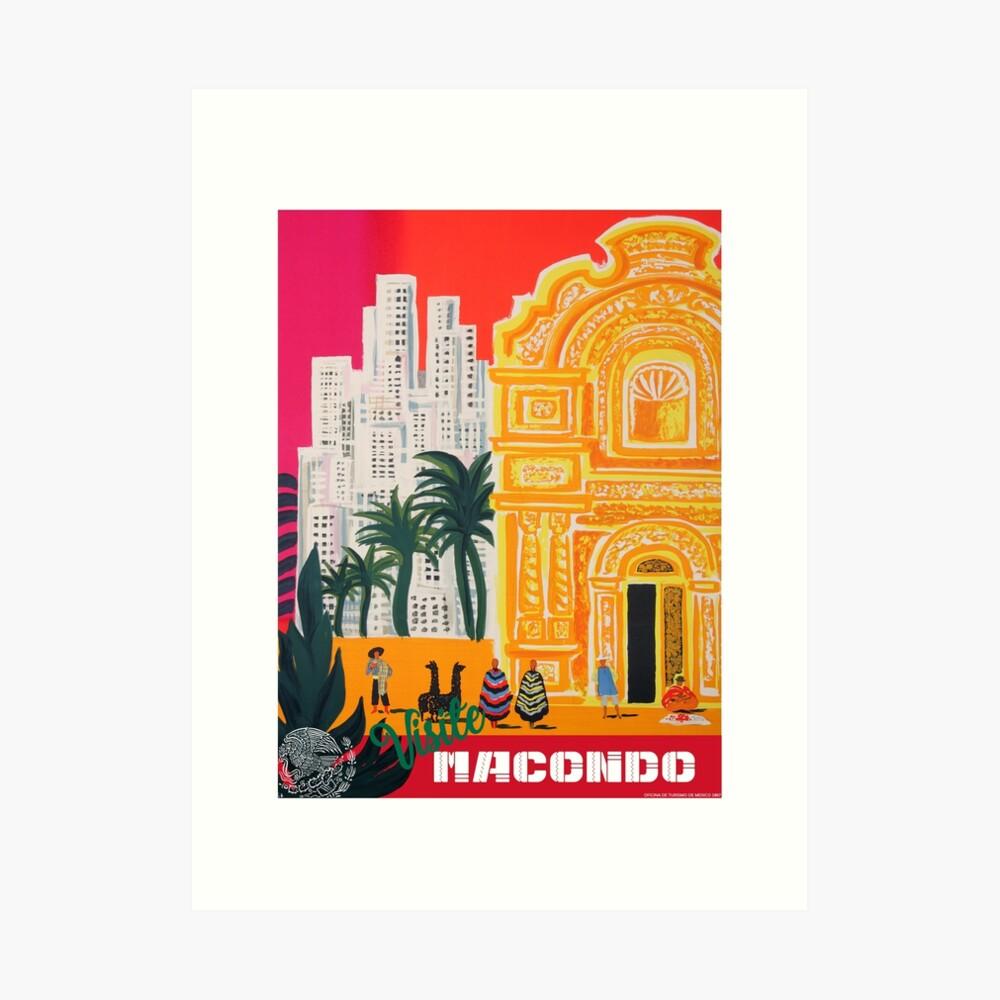Visite Macondo Kunstdruck