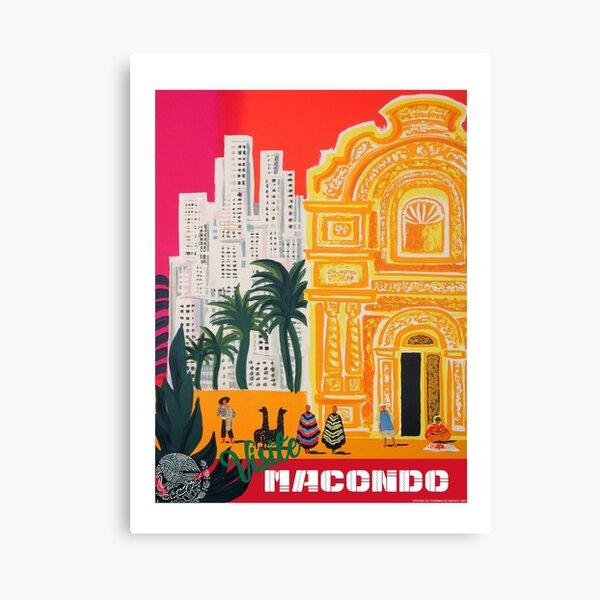 Visite Macondo Canvas Print
