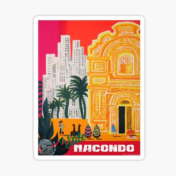 Visite Macondo Sticker