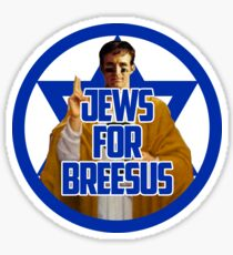 Jews for Breesus Sticker