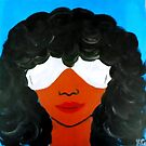 Afro & Sunglasses by Kamira Gayle