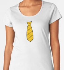 Badger House Tie  Women's Premium T-Shirt