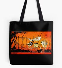 Monsters On Candy Hunt! Tote Bag