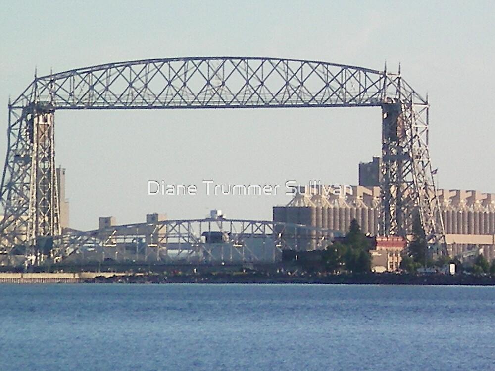 The Ariel Lift Bridge DULUTH MINNESOTA ~ Lake Superior by Diane Trummer Sullivan
