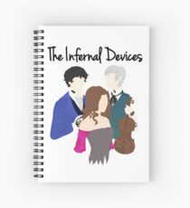 The Infernal devices  Spiral Notebook