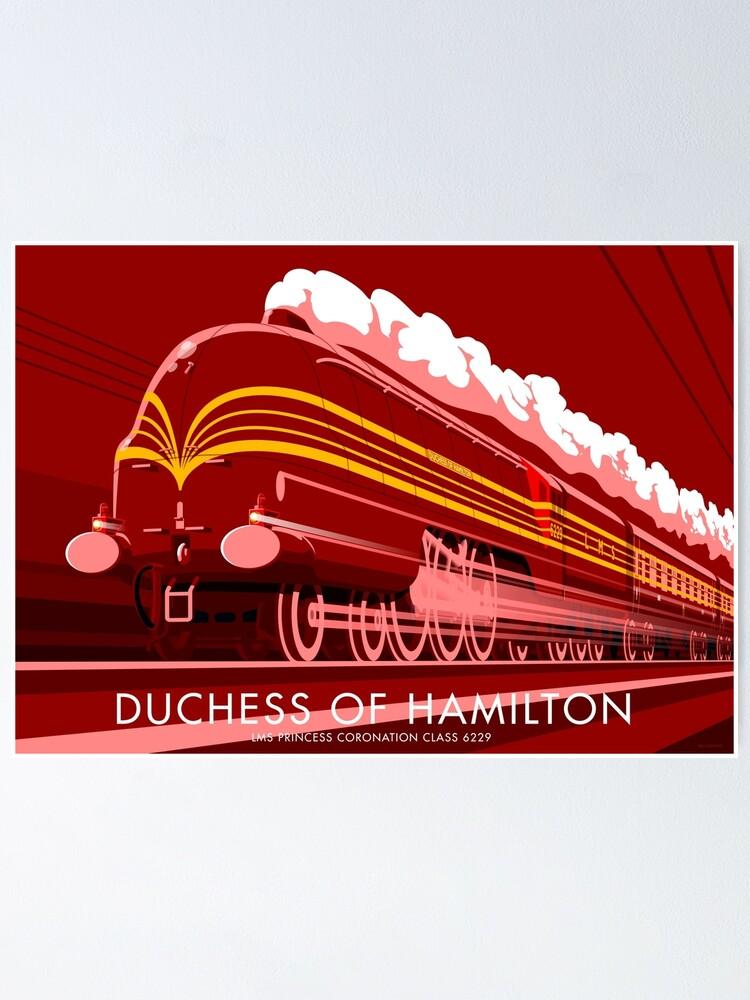 Alternate view of Duchess of Hamilton Poster