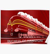 Duchess of Hamilton Poster