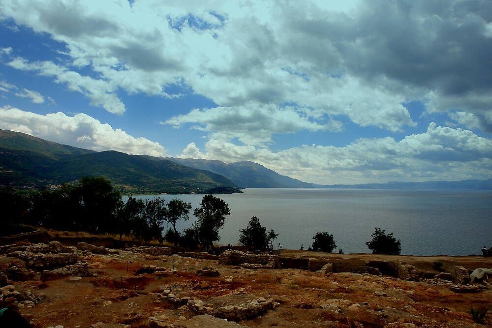 Above Ohrid by Ivana Ivanova Milcinoska