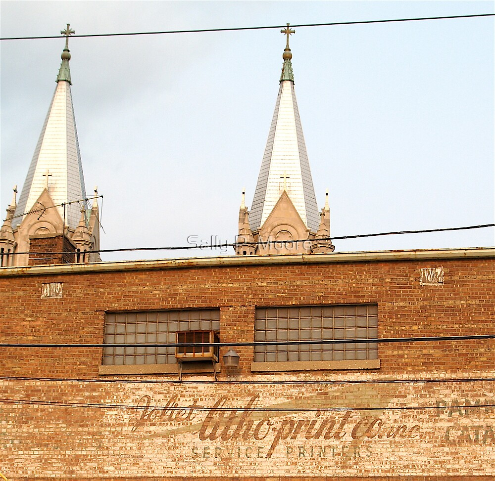 Ghost Writing in Joliet by Sally P  Moore