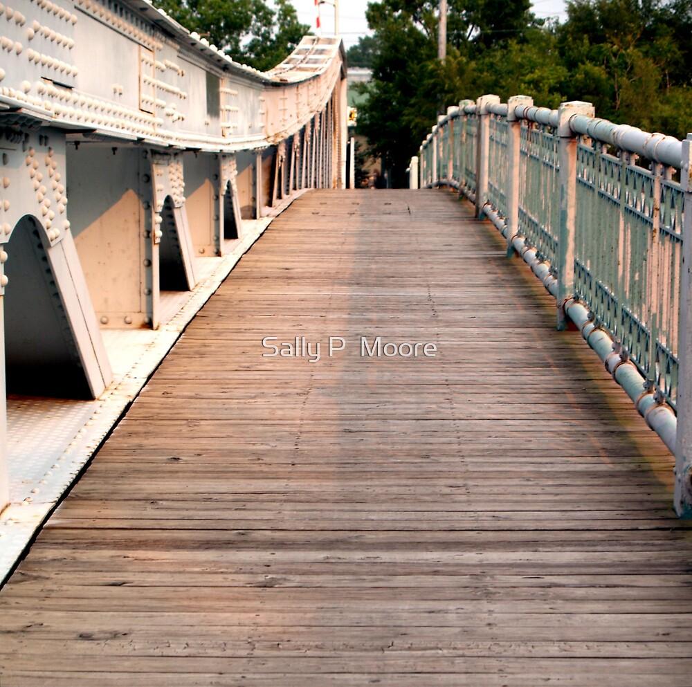 Ruby Street Bridge Route 66 by Sally P  Moore
