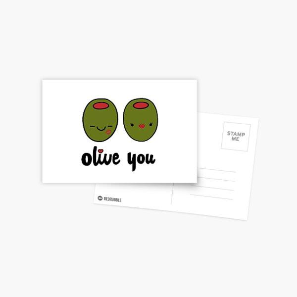 Olive You  Postcard
