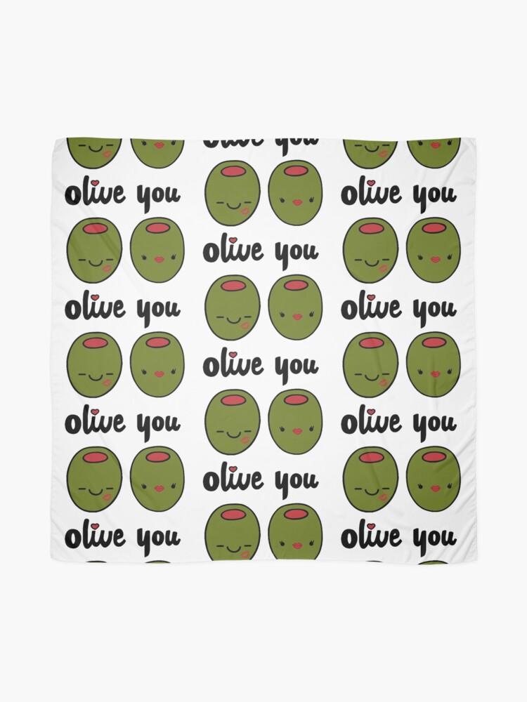 Alternative Ansicht von Olive Sie Tuch