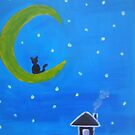 Crescent Moon by Kamira Gayle