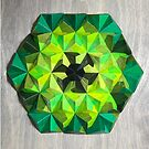 Origami Oh-Seven-Two Green by LeeMoDesigns
