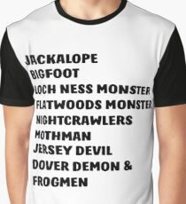 A List of My Friends Graphic T-Shirt