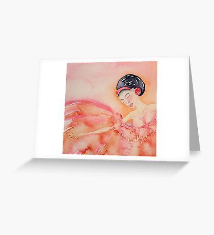 Ana 'Le Ballerine Piccoline' © Patricia Vannucci 2008  Greeting Card