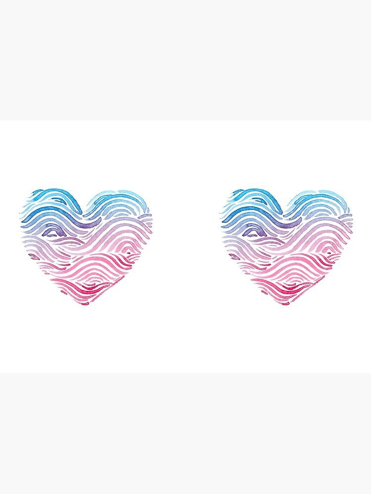 Heart of the sea - Watercolor by mirunasfia
