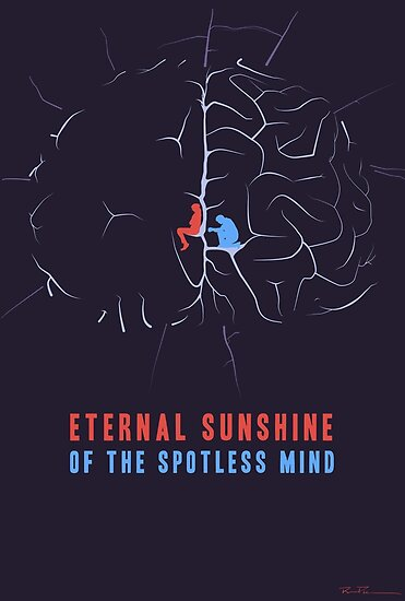 Risultati immagini per eternal sunshine of the spotless mind poster