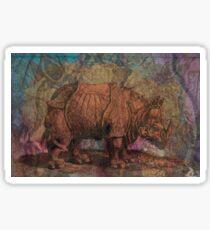 Rhino History Sticker