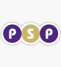 PSP Circles Sticker