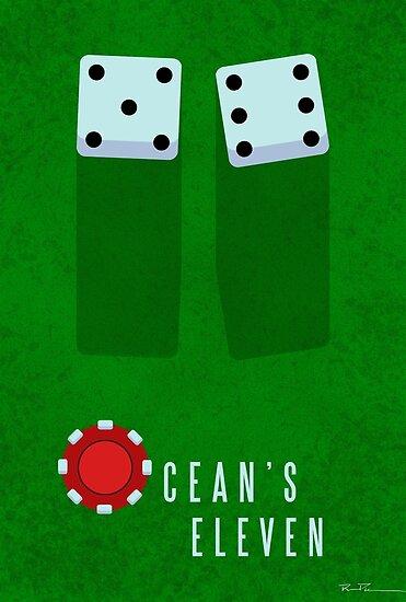 Ocean's 11 Minimal Fan Art by Ryan Piracha